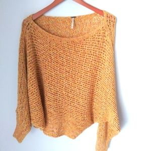 Free People chunky loose knit sweater size M